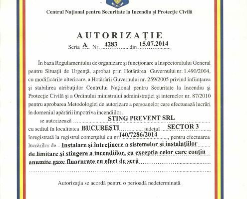Autorizatie Limitare si Stingere